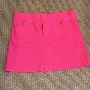 Pink LILLY PULITZER miniskirt